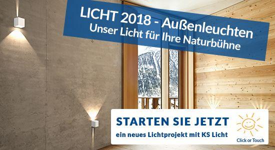 KS Licht- u. Elektrotechnik - LICHT 2018 - Außenleuchten für Ihre Saison
