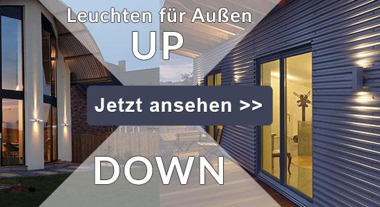 Up-Down Leuchten fü Außen